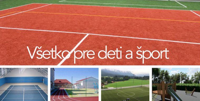 Podpora rozvoja Športu 2018